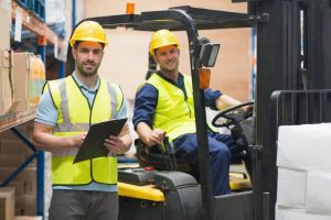 hire a forklift operator through All Personnel Inc.